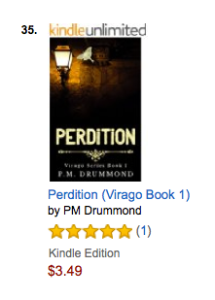 Perdition #35 Amazon Best Sellers Humorous Fantasy